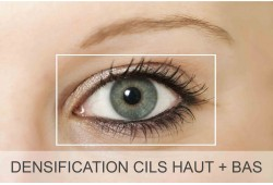 Maquillage permanent yeux (densification cils haut + bas) Retouche incluse