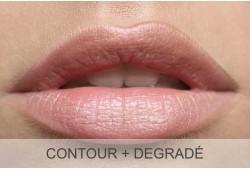 Maquillage permanent lèvres (contour + dégradé)  - Retouche incluse